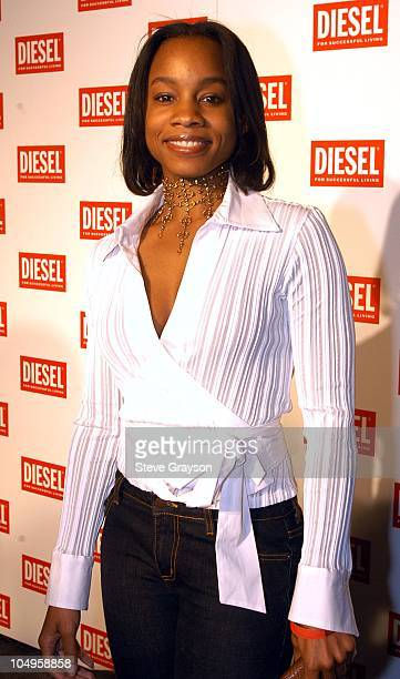 Anika Noni Rose during Diesel Fall Winter 2003/04 Collection Preview Party at Miahaus in Los Angeles, California, United States.