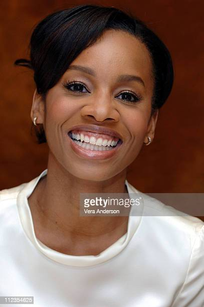 "Anika Noni Rose during ""Dreamgirls"" Press Conference with Anika Noni Rose at The Regency Hotel in New York City, New York, United States."