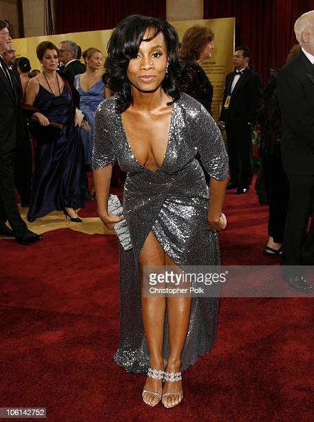Anika Noni Rose during The 79th Annual Academy Awards Red Carpet at Kodak Theatre in Hollywood California United States