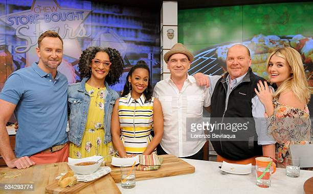"Anika Noni Rose is a guest today on Walt Disney Television via Getty Images's ""The Chew."" THE CHEW airs MONDAY - FRIDAY on the Walt Disney Television..."