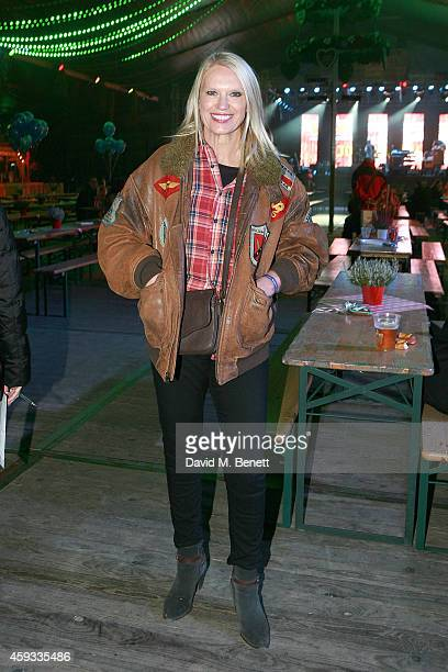 Anika Rice attends the Winter Wonderland VIP opening at Hyde Park on November 20 2014 in London England