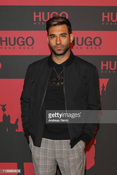 Anil Brancaleoni at the HUGO Launch Party with live performance by Liam Payne at Wriezener Karree on July 03, 2019 in Berlin, Germany.
