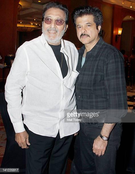 Anil Kapoor and Vinod Khanna at the inauguration of Screenwriters Lab an initiative of Mumbai Mantra and Sundance Institute in Mumbai on Sunday