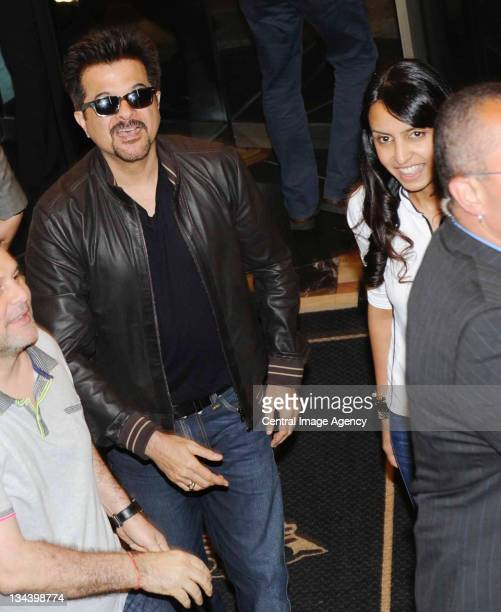Anil Kapoor arrives for IIFA 2011 on the streets of Toronto on June 22 2011 in Toronto Canada