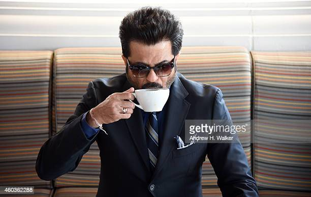 Anil Kapoor during a portrait session on day three of the 11th Annual Dubai International Film Festival held at the Madinat Jumeriah Complex on...