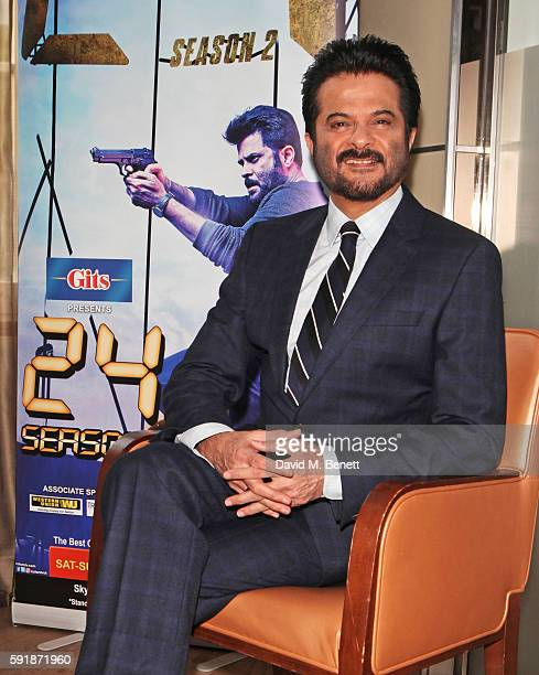 Photocall And Press Conference With Actor Anil Kapoor From