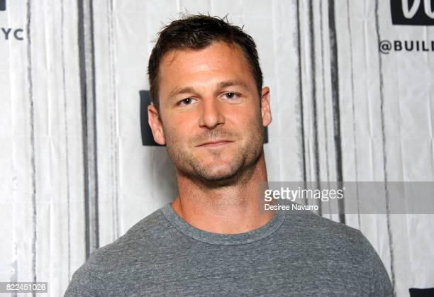 Animal activist and trainer Dave Salmoni attends Build to discuss Global Tiger Day and Discovery's 'Project CAT'at Build Studio on July 25 2017 in...
