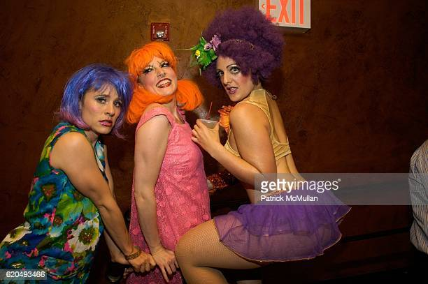 Animal Crackers attends Hendrick's Gin Presents a Most Unusual Kissing Booth at the Opening Night of the New York Burlesque Festival at The Bellhouse...