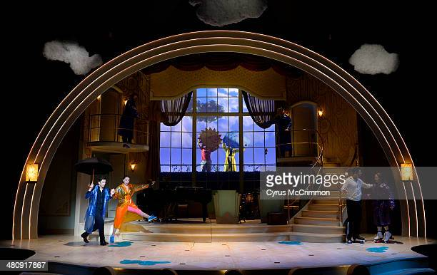 'Animal Crackers' is being rehearsed at The Stage Theatre at the Denver Center for the Performing Arts on Thursday March 27 2014 Actors M Scott...