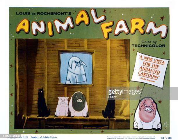 Animal Farm US lobbycard 1954