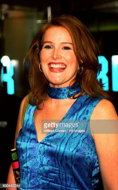 Animal Hospital TV presenter Shauna Lowry arrives for the premiere of the film XMen at The Odeon cinema in Leicester Square London