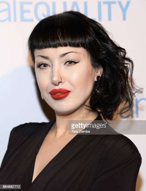 Animal rights activist Zuhal Sengul attends the Animal Equality Global Action annual gala at The Beverly Hilton Hotel on December 2 2017 in Beverly...