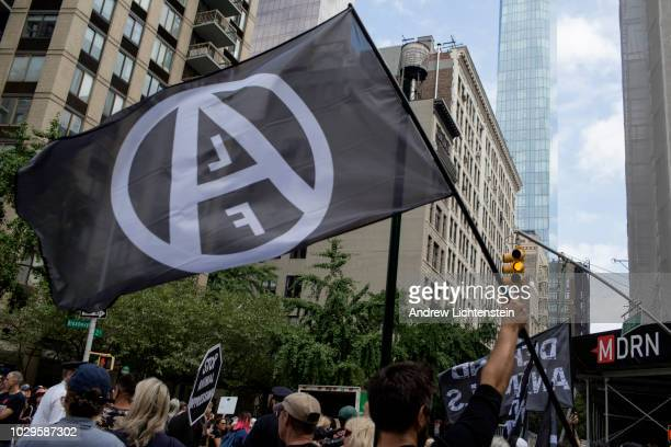 Animal rights activists including members of the Animal Liberation Front Peta various animal rescue groups and vegans participate in the annual...