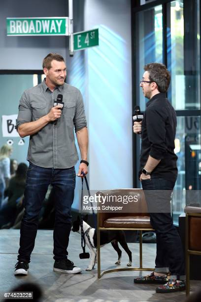Animal trainer author and TV personality Brandon McMillan attends Build Series Presents Brandon McMillan Discussing Lucky Dog Lessons Train Your Dog...