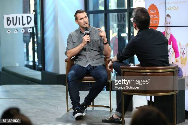 """Animal trainer, author and TV personality Brandon McMillan attends Build Series Presents Brandon McMillan Discussing """"Lucky Dog Lessons: Train Your..."""