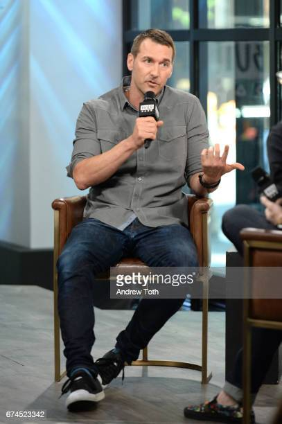 """Animal trainer Brandon McMillan attends AOL Build Series to discuss """"Lucky Dog Lessons: Train Your Dog In 7 Days"""" at Build Studio on April 28, 2017..."""