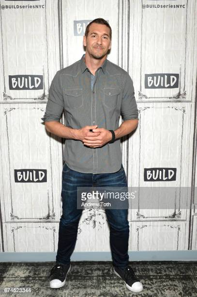 Animal trainer Brandon McMillan attends AOL Build Series to discuss Lucky Dog Lessons Train Your Dog In 7 Days at Build Studio on April 28 2017 in...