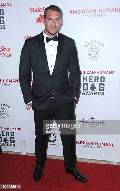 Animal Trainer Brandon McMillan attends the 6th Annual Hero Dog Awards 2016 at The Beverly Hilton Hotel on September 10, 2016 in Beverly Hills,...