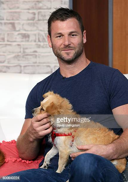 Animal trainer/TV personality Dave Salmoni visits Hollywood Today Live at W Hollywood on September 8 2016 in Hollywood California