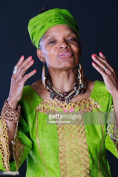 animated african american woman story teller - dashiki stock photos and pictures