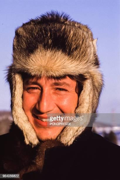 L'animateur Patrick Sabatier en février 1987 à Montréal Canada