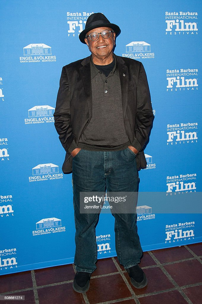 Animator Floyd Norman arrives at the presentation of the American Riviera Award at the 31st Santa Barbara International Film Festival at the Arlington Theatre on February 5, 2016 in Santa Barbara, California.
