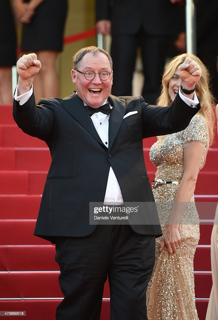 Animator John Lasseter attends the 'Inside Out' Premiere during the 68th annual Cannes Film Festival on May 18, 2015 in Cannes, France.