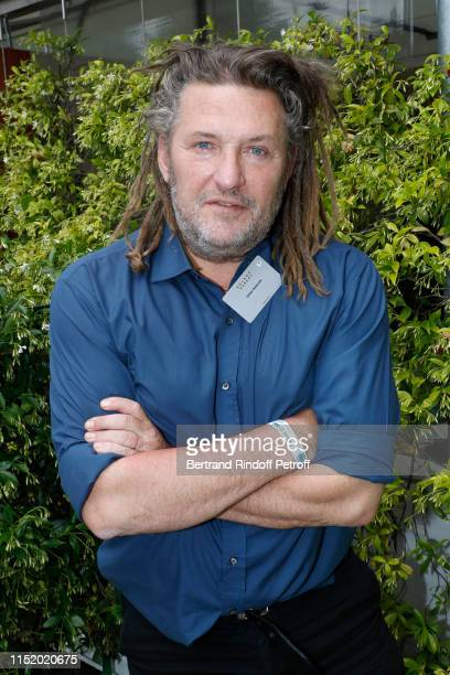 Animator Olivier Delacroix attends the 'France Television' Lunch during the 2019 French Tennis Open Day Two at Roland Garros on May 27 2019 in Paris...