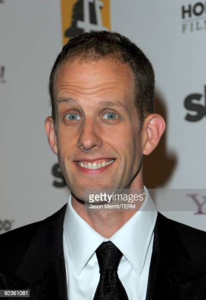 Animator Pete Docter arrives at the 13th annual Hollywood Awards Gala Ceremony held at The Beverly Hilton Hotel on October 26 2009 in Beverly Hills...