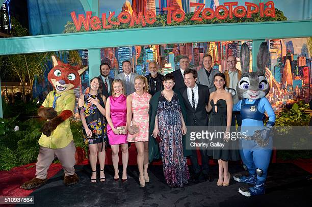 Animator Raymond S Persi and actors Nate Torrence Tommy Chong Maurice LaMarche Alan Tudyk and Don Lake and actresses Katie Lowes and Kristen Bell...