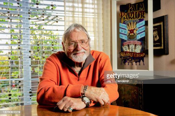 Animator Rolly Crump is photographed for Los Angeles Times on May 16, 2018 in Carlsbad, California. PUBLISHED IMAGE. CREDIT MUST READ: Jay L....