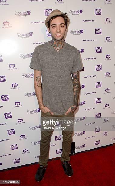 Animator Romeo Lacoste attends the Premiere Of Dragon Ball Z Resurrection 'F at Regal Cinemas LA Live on July 2 2015 in Los Angeles California
