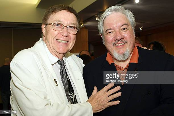 Animator Tom Sita and Carl Bell attend AMPAS' 14th Annual Marc Davis Celebration of Animation at the AMPAS Samuel Goldwyn Theater on July 28 2009 in...
