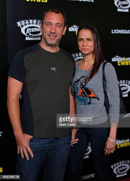 Animator Trey Parker and Boogie Tillmon attend the premiere of Roadside Attractions 'The Skeleton Twins' at the ArcLight Hollywood on September 10,...