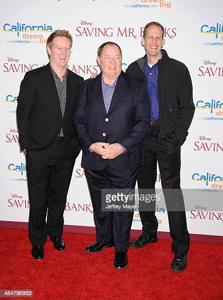 Animator/Director Pete Docter, Chief Creative Officer of Walt Disney and Pixar Animation Studios/Executive Producer John Lasseter and director/writer...
