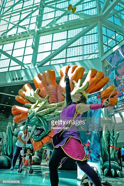 Anime Expo at Los Angeles Convention Center on July 3 2016 in Los Angeles California