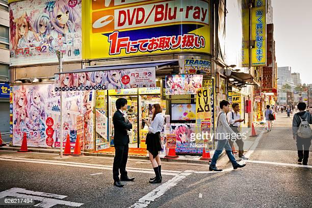 Anime store front, Akihabara, Tokyo