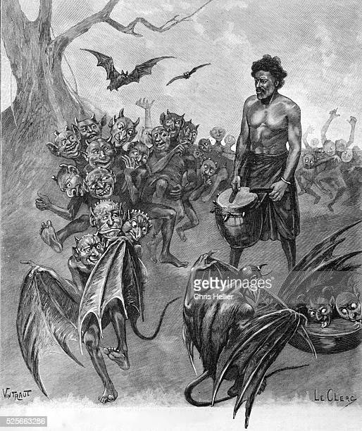 Animist Legend of Sousou or Sousou Devils Guinea Africa 1903