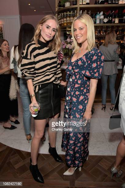 Anine Bing and Ali Wise attend Jennifer Meyer Celebrates First Store Opening in Palisades Village At The Draycott With Gwyneth Paltrow And Rick...