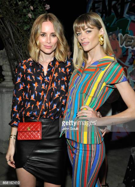Anine Bing and Jamie King at Farfetch and William Vintage Celebrate Gianni Versace Archive hosted by Elizabeth Stewart and William BanksBlaney on...