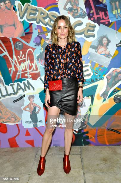 Anine Bing at Farfetch and William Vintage Celebrate Gianni Versace Archive hosted by Elizabeth Stewart and William BanksBlaney on October 5 2017 in...