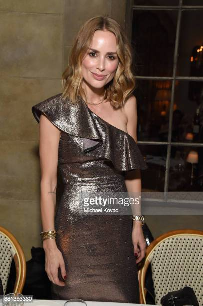 Anine Bing at Rachel Zoe's Box of Style Holiday Supper at Chateau Marmont on November 28 2017 in Los Angeles California