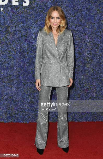 Anine Bing attends Caruso's Palisades Village Opening Gala at Palisades Village on September 20 2018 in Pacific Palisades California