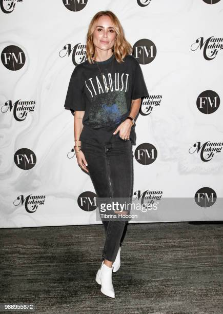 Anine Bing attends the 2018 Mamas Making It Summit at The Line Hotel on June 3 2018 in Los Angeles California
