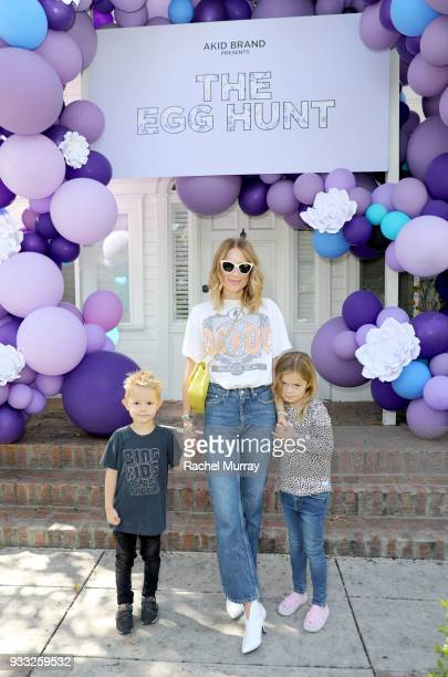 Anine Bing attends the AKID Brand's 3rd Annual 'The Egg Hunt' at Lombardi House on March 17 2018 in Los Angeles California