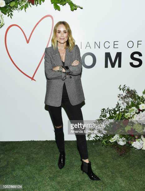 Anine Bing attends the Alliance of Moms' Cocktails and Conversation event at The Draycott at Palisades Village on October 23 2018 in Pacific...