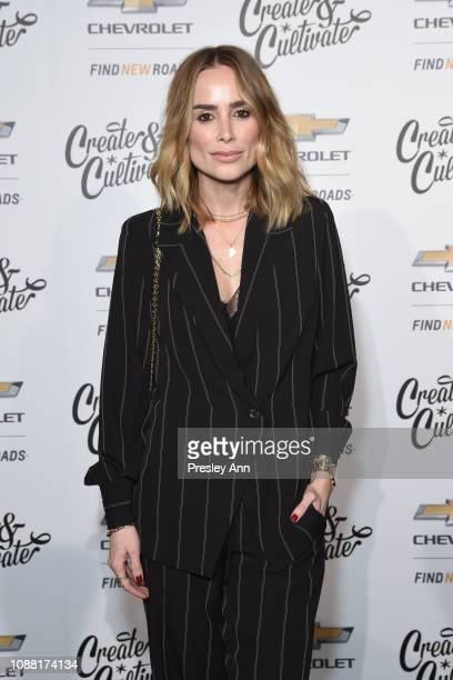 Anine Bing attends the Create Cultivate And Chevrolet Launch Event For The Create Cultivate 100 List on January 24 2019 in Los Angeles California