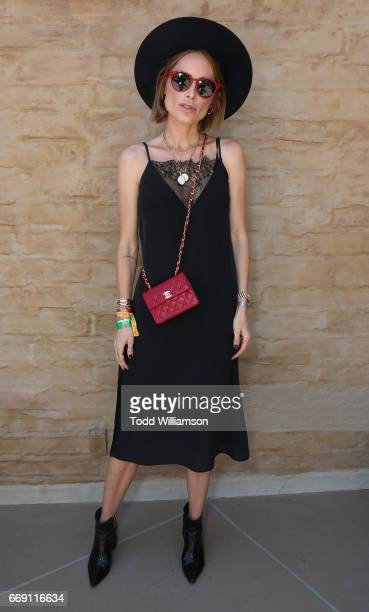 Anine Bing attends The Zoe Report's ZOEasis on April 15 2017 in Palm Springs California