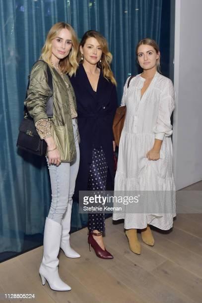 Anine Bing Sara Riff and Lindsay Wolf attend Woman Made on March 5 2019 in Beverly Hills California