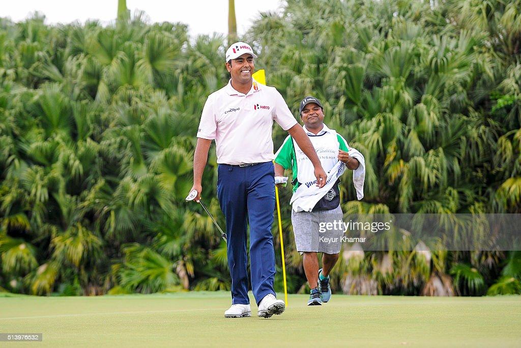 World Golf Championships-Cadillac Championship - Round Three